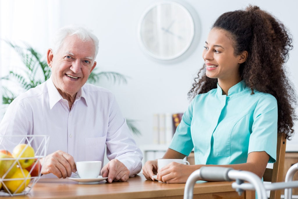 Positive Carer And Retired Man in Glenolden, PA