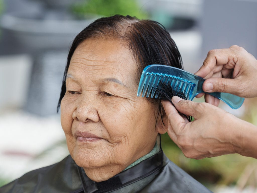 Elderly Care in Berwyn PA: Senior Hair Care