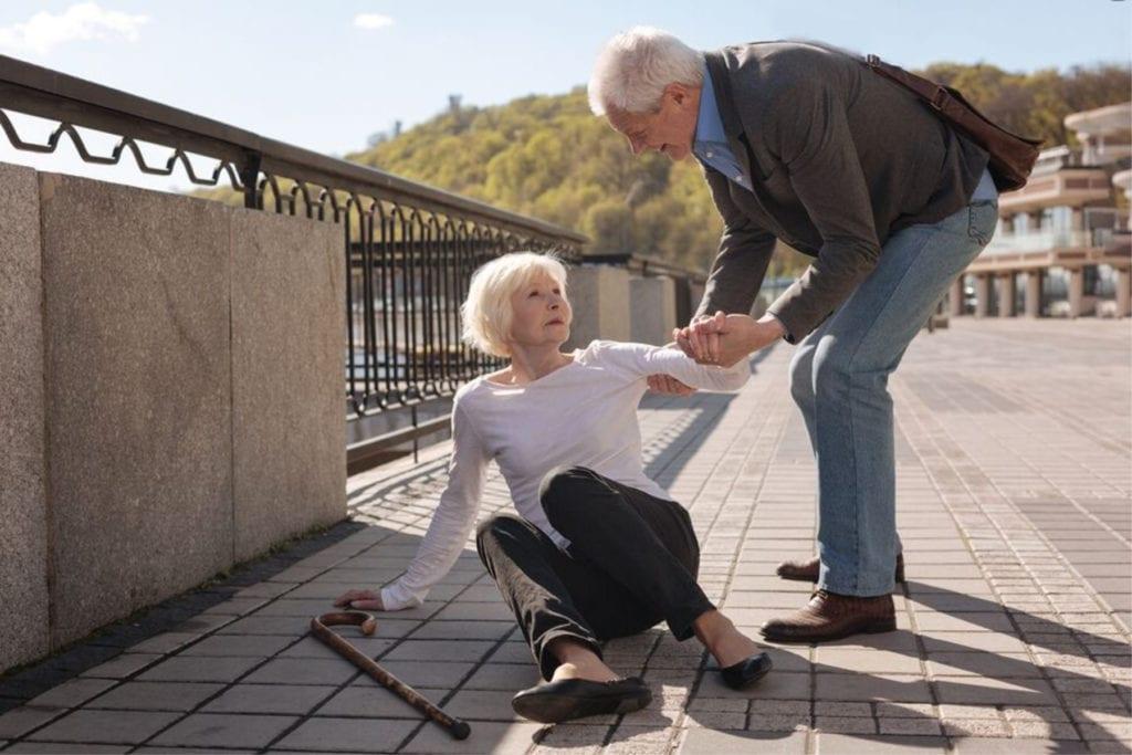 Caregiver in Berwyn PA: Senior Falls