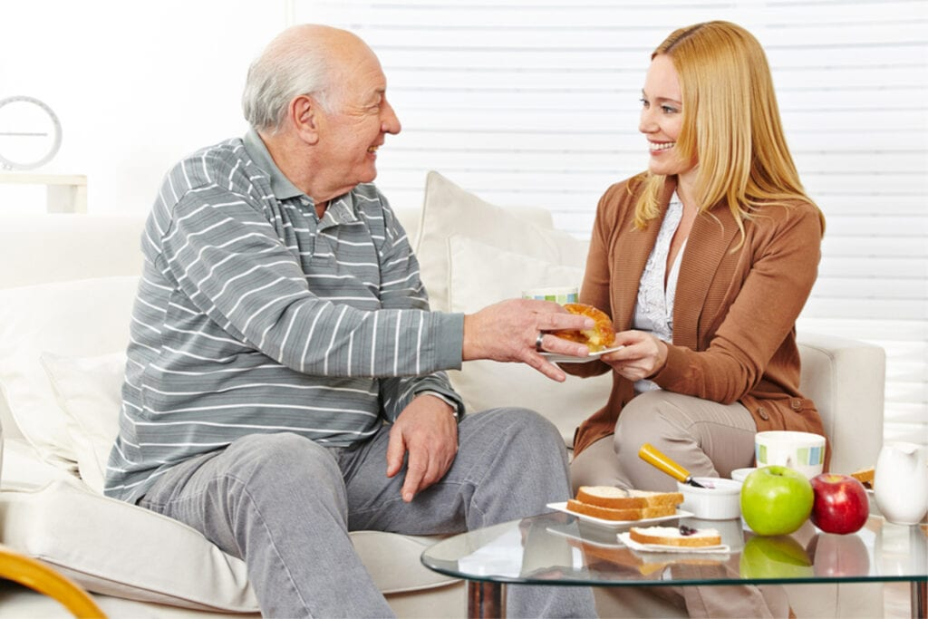 Home Care Services in Media PA: Caregiver Interaction With Senior