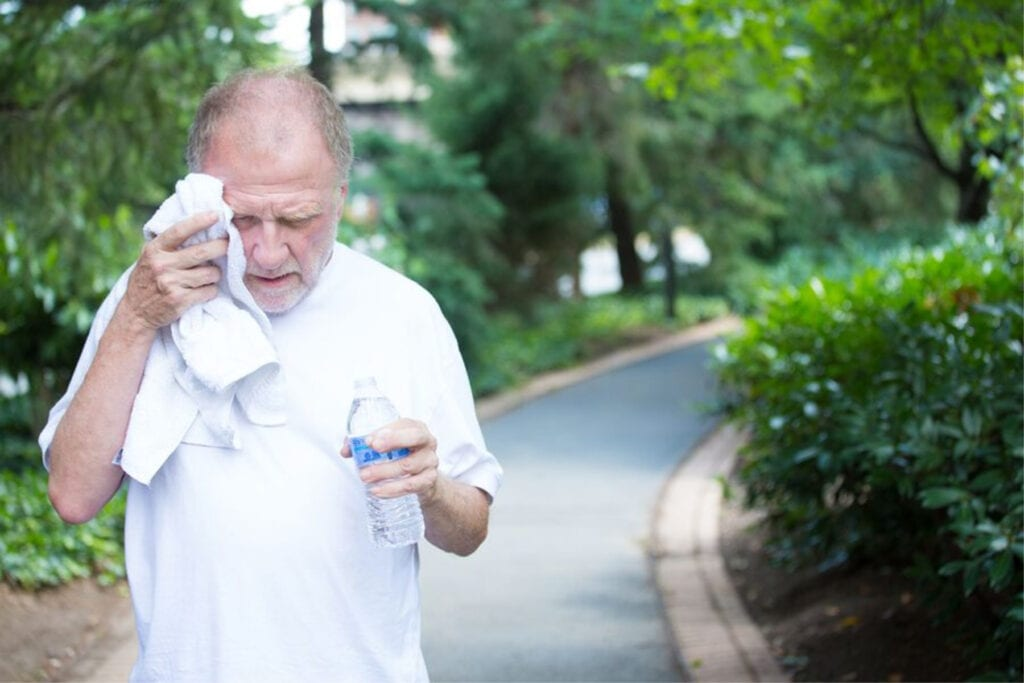 Senior Care in Chadds Ford PA: Heat Stress