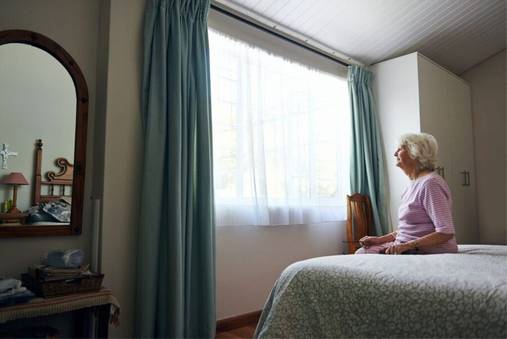 Elderly Care in Philadelphia PA: Elderly Loved One Isolating